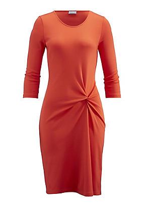 hessnatur Kleid aus Bio-Baumwolle mit Modal, Größe 36, rot von Hess Natur in black - Schwarz für 0,00€