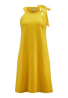 hessnatur Kleid aus Bio-Baumwolle, Größe 42, gelb von Hess Natur in black - Schwarz für 0,00€