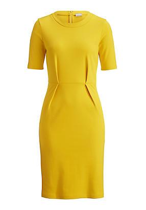 hessnatur Kleid aus Bio-Baumwolle, Größe 34, gelb von Hess Natur in black - Schwarz für 0,00€