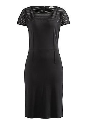 hessnatur Kleid aus Bio-Baumwolle, Größe 36, schwarz von Hess Natur in black - Schwarz für 0,00€