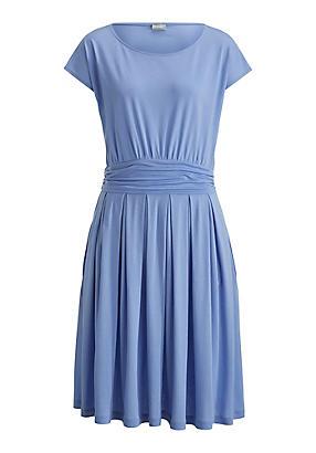 hessnatur Kleid aus Bio-Baumwolle, Größe 38, blau von Hess Natur in black - Schwarz für 0,00€