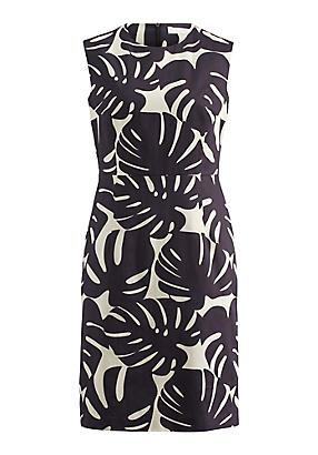 hessnatur Kleid aus Bio-Baumwolle, Größe 34, beige von Hess Natur in black - Schwarz für 0,00€