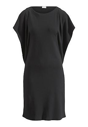 hessnatur Kleid aus Bio-Baumwolle, Größe 48, schwarz von Hess Natur in black - Schwarz für 0,00€