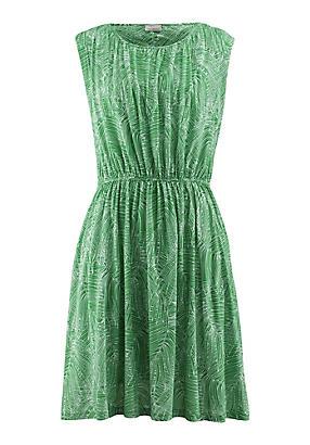 hessnatur Kleid aus Bio-Baumwolle, Größe 42, grün von Hess Natur in black - Schwarz für 0,00€