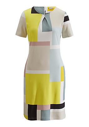 hessnatur Kleid aus Bio-Baumwolle, Größe 40, bunt von Hess Natur in black - Schwarz für 0,00€