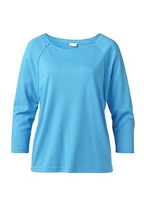 hessnatur Sweatshirt für Sie aus Bio-Baumwolle und Modal, Größe XS, blau von Hess Natur in black - Schwarz für 0,00€