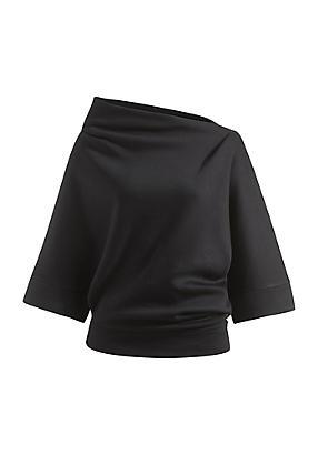 hessnatur Zero Waste Sweatshirt aus Modal mit Bio-Baumwolle, Größe S, schwarz von Hess Natur in black - Schwarz für 0,00€