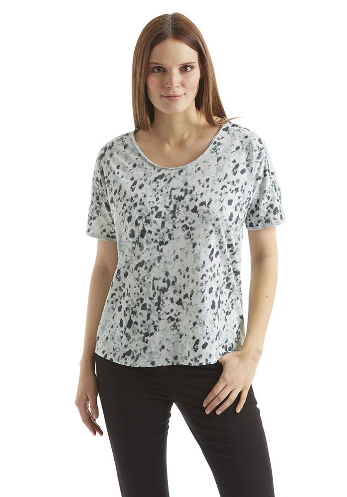 damen oversize shirt mit animal print hessnatur deutschland. Black Bedroom Furniture Sets. Home Design Ideas