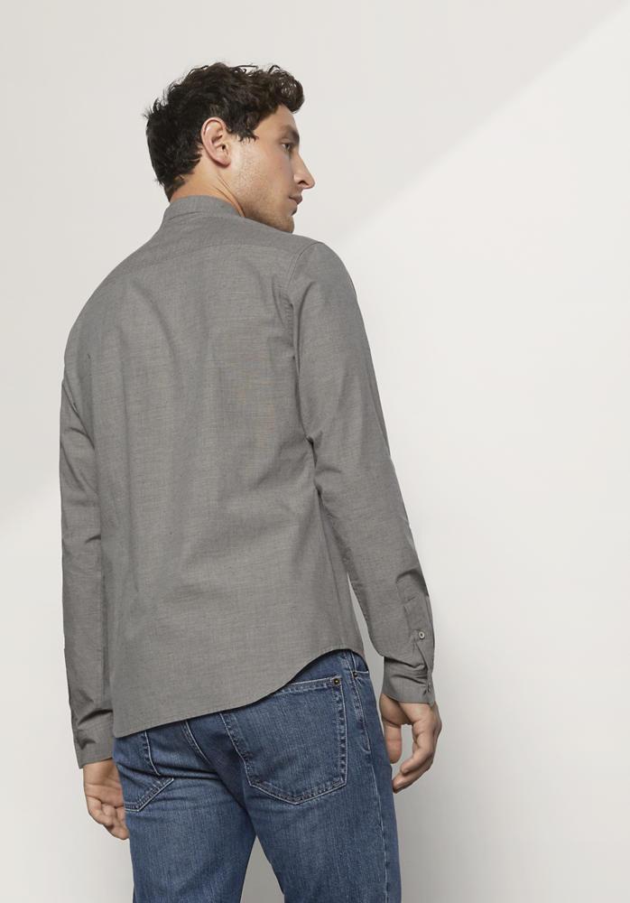 Hemd Modern Fit aus Bio-Baumwolle, Hanf und Yakwolle