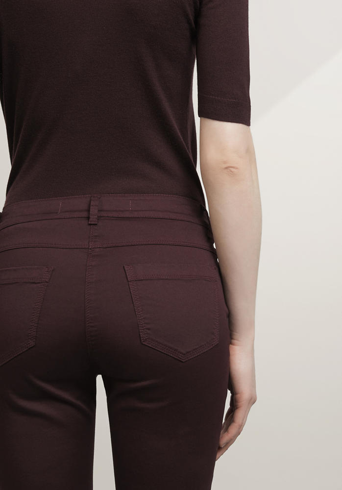Hose Slim Fit aus Bio-Baumwolle