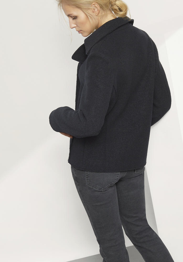Jacke aus reiner Schurwolle
