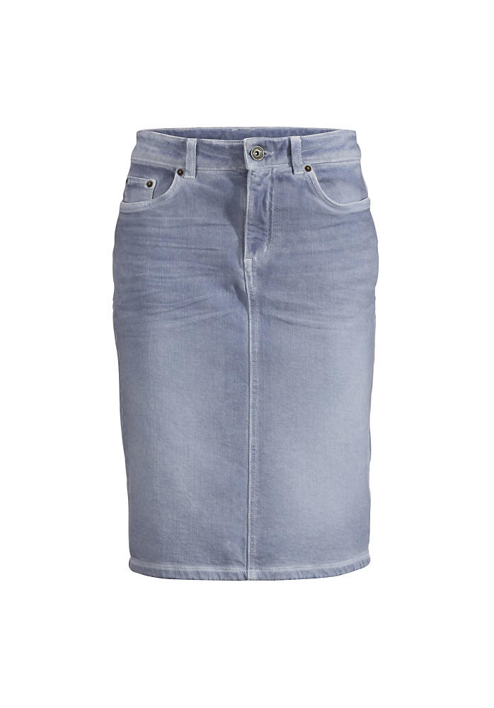 Jeansrock Coloured Denim aus Bio-Denim