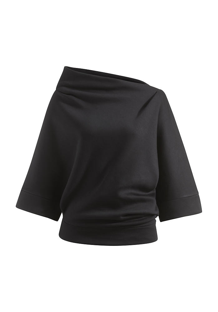 Zero Waste Sweatshirt aus Modal mit Bio-Baumwolle