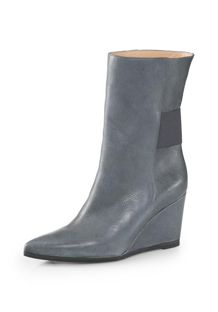 Stiefel in Blaugrau