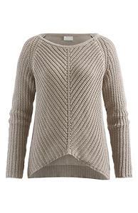 Damen Pullover aus reiner Bio-Baumwolle