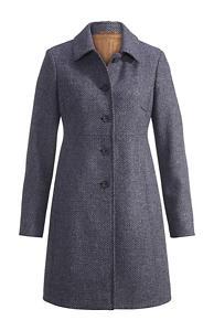 Damen Wollmantel aus reiner Schurwolle