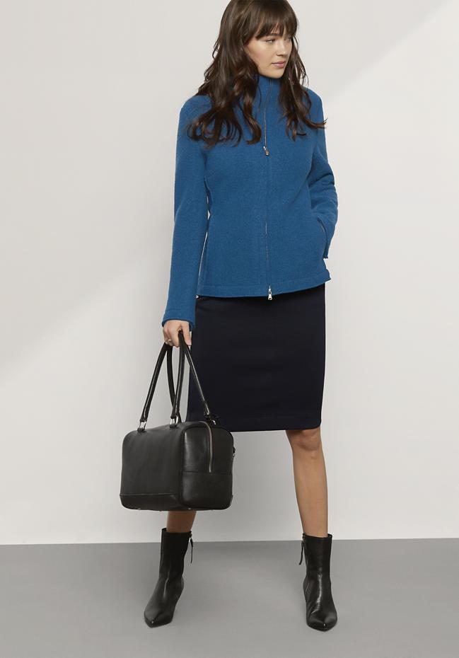 Damen Jacke aus reiner Schurwolle