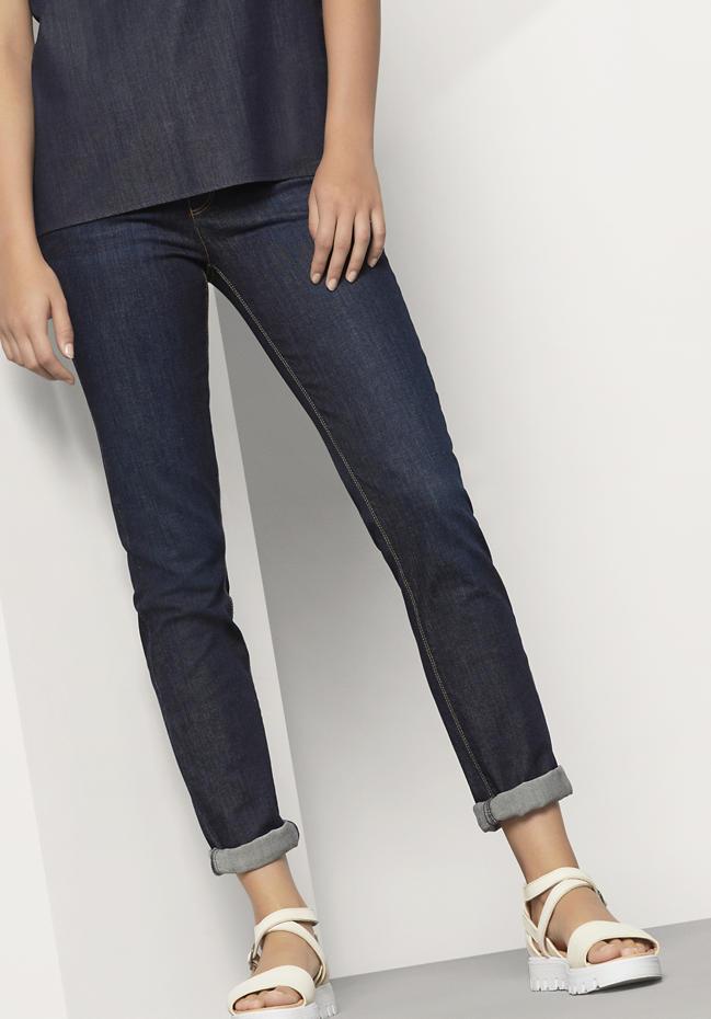 Damen Jeans Slim Fit aus Bio-Denim