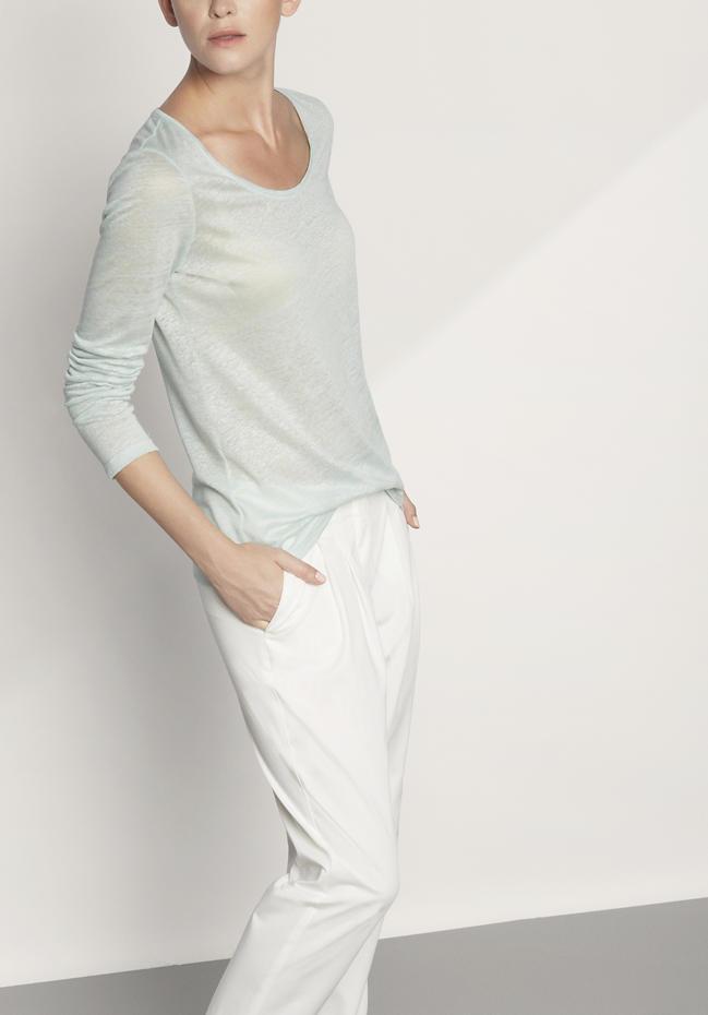 Damen Shirt aus reinem Hanf
