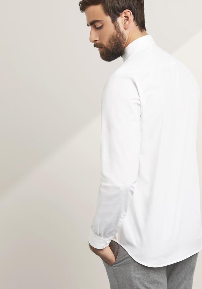 Hemd Modern Fit aus reiner Baumwolle