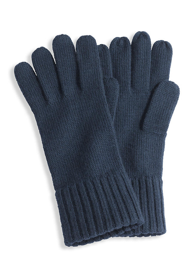 Herren Handschuhe aus reiner Schurwolle