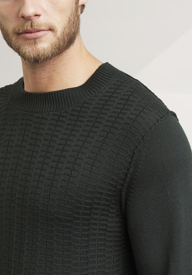 Herren Pullover aus reiner Bio-Schurwolle