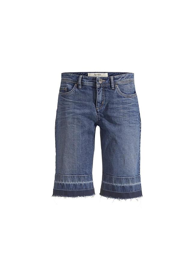Jeans Bermuda aus Bio-Denim