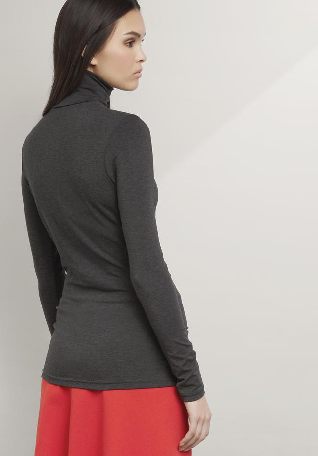 Langarm-Shirt aus Modal