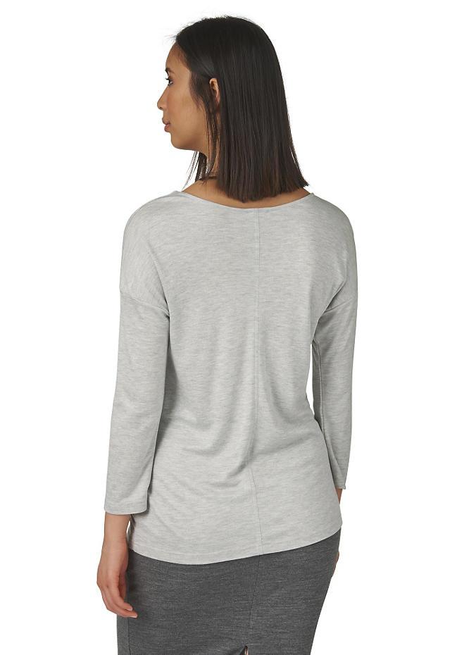 Shirt aus Bio-Baumwolle mit Modal