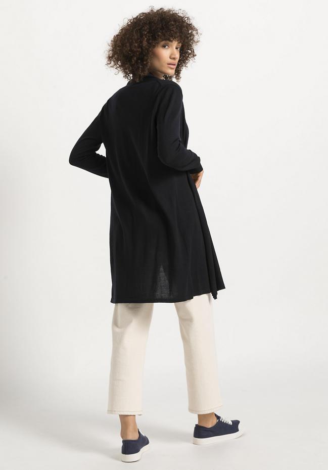 Strickjacke aus reiner Bio-Schurwolle