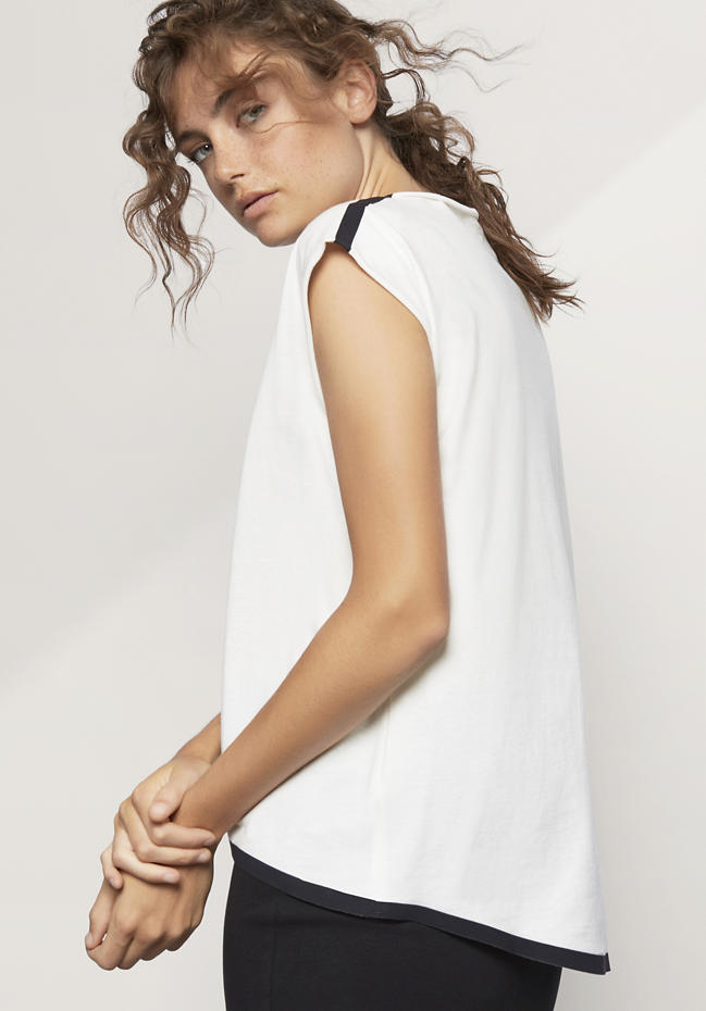 Zero Waste Shirt aus reiner Bio-Baumwolle