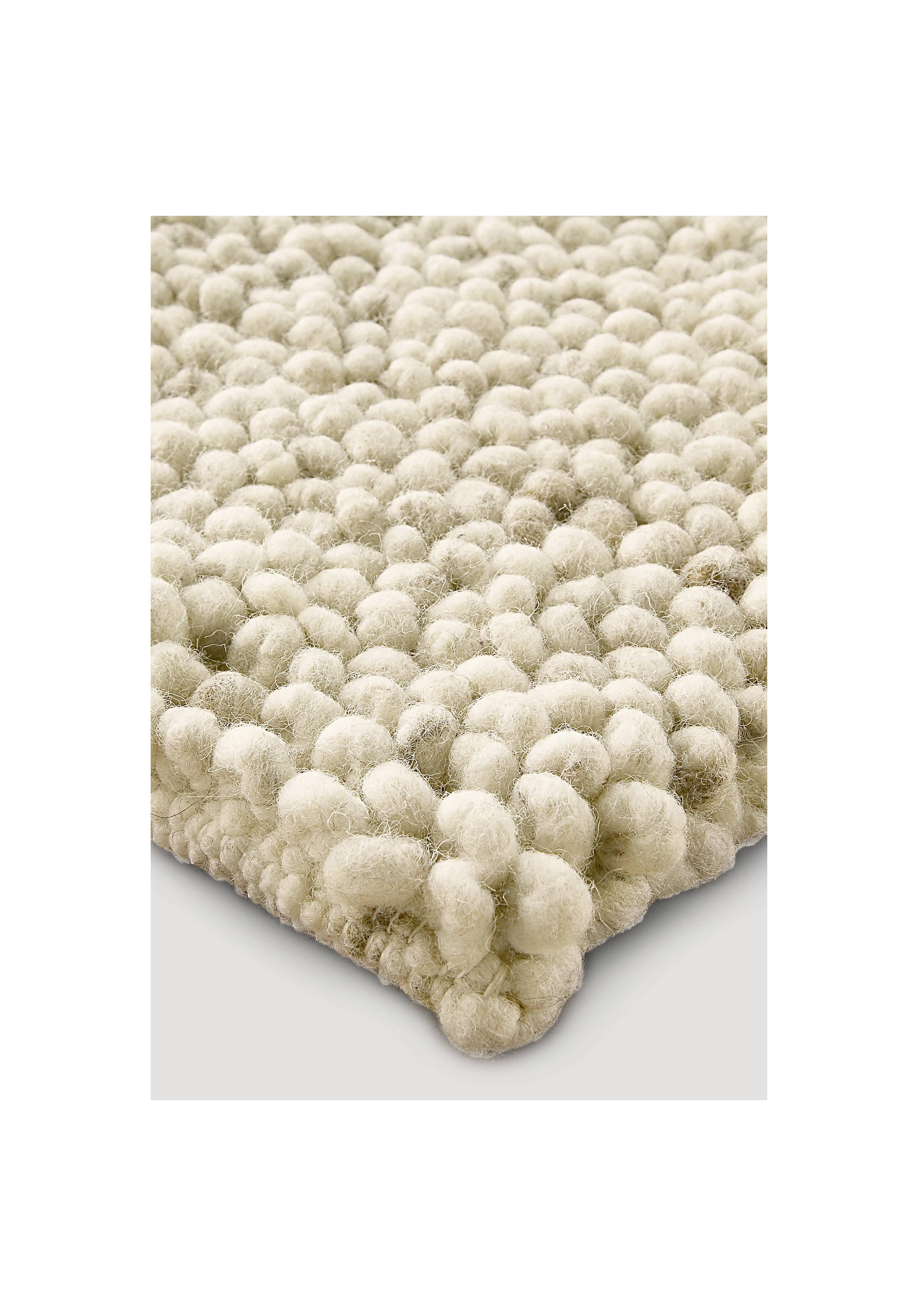 Teppich schurwolle  Schlingen-Teppich Rhönschaf aus reiner Schurwolle - hessnatur ...