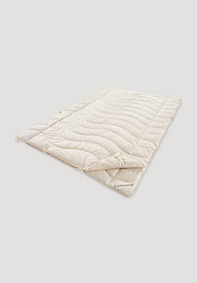 - 4-Jahreszeiten-Decke Kapok und Bio-Baumwolle