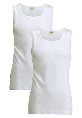 Unterhemden - Achselhemd aus reiner Bio-Baumwolle im 2er-Set