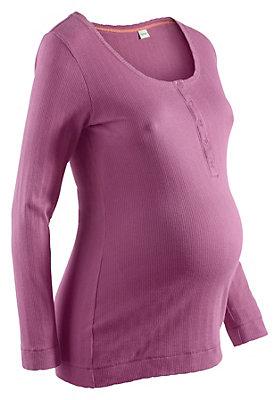 babykollektion - Ajour-Shirt aus reiner Bio-Baumwolle