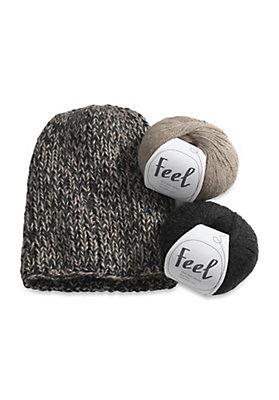 - Alpaka-Mütze zum Selbststricken