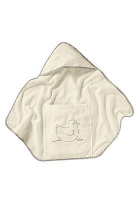- Baby Badetuch mit Beutel aus reiner Bio-Baumwolle