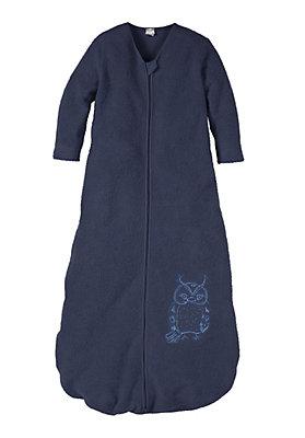 - Baby Fleece-Schlafsack aus reiner Bio-Baumwolle