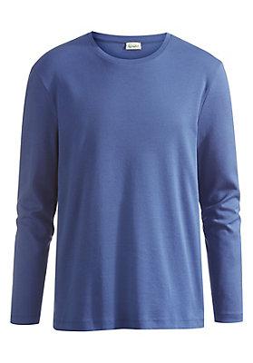 - Basic-Langarmshirt aus reiner Bio-Baumwolle