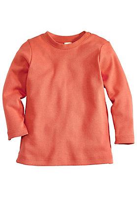 - Basic Langarmshirt aus reiner Bio-Baumwolle