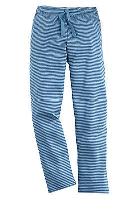 kinderkollektion in blau - Basic Ringelhose aus Bio-Baumwolle