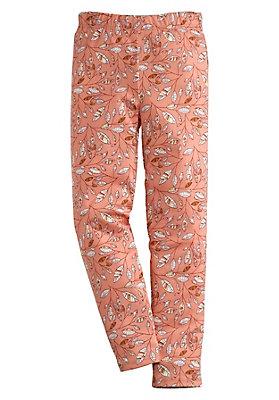 - Bedruckte Leggings aus reiner Bio-Baumwolle