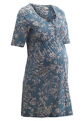 - Bedruckte Still-Tunika aus reiner Bio-Baumwolle