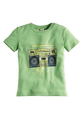 - Bedrucktes Shirt aus reiner Bio-Baumwolle