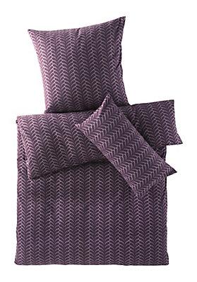 - Biber-Bettwäsche Ornamento aus reiner Bio-Baumwolle