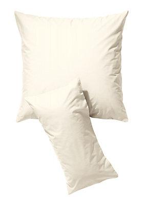 - Biber-Kissenbezug aus reiner Bio-Baumwolle