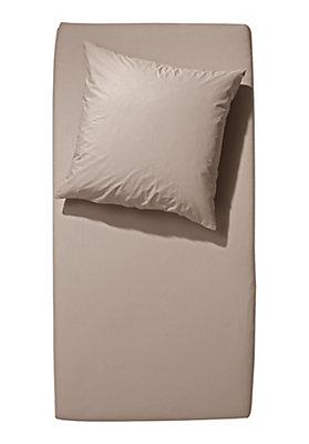 - Biber-Spannbetttuch aus reiner Bio-Baumwolle