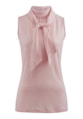 - Bluse aus Bio-Baumwolle mit Schurwolle