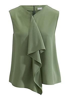 - Bluse aus reiner Seide