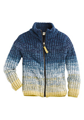 schulanfang - Cardigan aus reiner Bio-Baumwolle